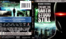 THE DAY THE EARTH STOOD STILL (2008) R1 BLU-RAY COVER & LABEL