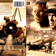 THE FLIGHT OF THE PHOENIX (1965) R1 DVD COVER & LABEL