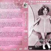 Shirley Temple: Feature Films - Set 4 (1936-1937) R1 Custom DVD Cover