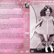 Shirley Temple: Feature Films - Set 5 (1938-1939) R1 Custom DVD Cover