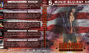 Rambo Collection (5) R1 Custom Blu-Ray Cover V2