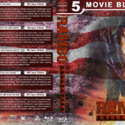 Rambo Collection (5) R1 Custom Blu-Ray Cover V2
