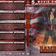 Rambo Collection (5) R1 Custom DVD Cover V2