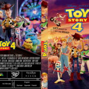 Toy Story 4 (2019) R1 Custom DVD Cover & Label