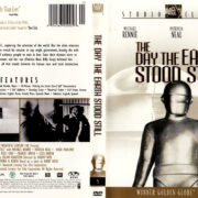 THE DAY THE EARTH STOOD STILL (1951) R1 DVD COVER & LABEL