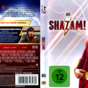 Shazam! (2019) R2 German Blu-Ray Cover