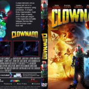 Clownado (2019) R1 Custom DVD Cover & Label