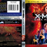 X-Men: Dark Phoenix (2019) R1 4K UHD Cover