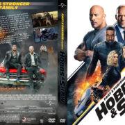Fast & Furious Presents: Hobbs & Shaw (2019) R1 Custom DVD Cover