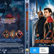 Spider-Man: Far From Home (2019) R1 Custom DVD Cover v2