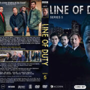 Line of Duty - Series 5 (2019) R1 Custom DVD Cover & Labels