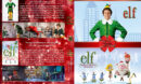 Elf Double Feature R1 Custom DVD Cover V2