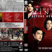 Criminal Minds: Beyond Borders - Season 2 (2017) R1 Custom DVD Cover & Labels