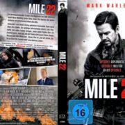 Mile 22 (2018) R2 German DVD Cover