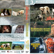 Homeward Bound Triple Feature R1 Custom DVD Cover