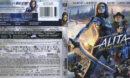 Alita: Battle Angel (2019) R1 4K UHD Cover & Labels