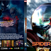 SPIDER-MAN FAR FROM HOME CUSTOM BLU-RAY COVER & LABEL