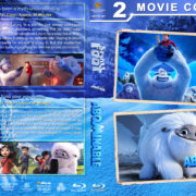 Smallfoot / Abominable Double Feature R1 Custom Blu-Ray Cover & Labels