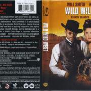 Wild Wild West (1999) R1 Blu-Ray Cover & Label