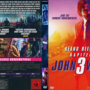 John Wick-Kapitel 3 (2019) R2 German DVD Cover