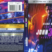 John Wick Chapter 3: Parabellum (2019) R1 4K UHD Cover & Labels