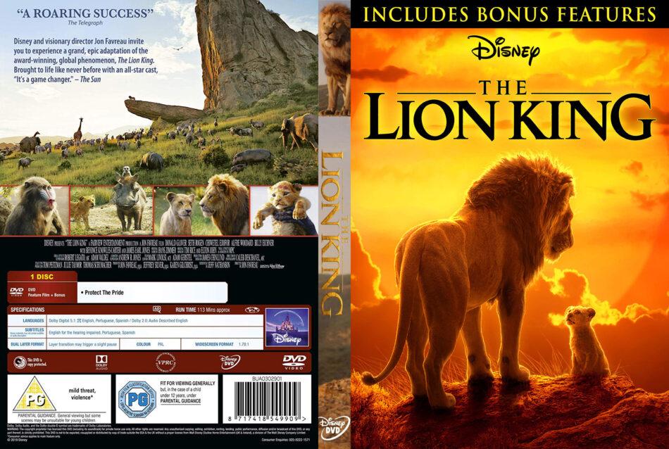 The Lion King 2019 R2 Custom Dvd Cover V2 Dvdcovercom