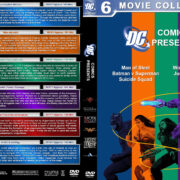 DC Comics Presents Collection (6) R1 Custom DVD Cover