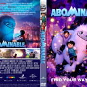 Abominable (2019) R1 Custom DVD Cover & Label
