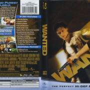 Wanted (2008) R1 Blu-Ray Cover & Labels