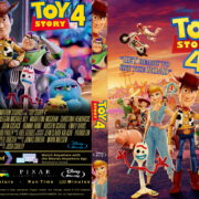 Toy Story 4 (2019) R1 Custom Blu-ray Cover & Label
