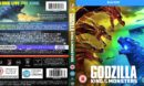 GODZILLA KING OF THE MONSTERS (2017) R2 Blu-Ray Cover & Label
