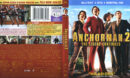 Anchorman 2 (2013) R1 Blu-Ray Cover & Labels