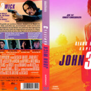 John Wick - Kapitel 3 (2019) R2 German Custom Blu-Ray Cover & Label