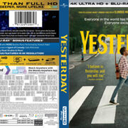 Yesterday (2019) R1 4K UHD Cover