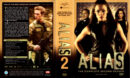 ALIAS COMPLETE SEASON TWO (2003) R1 DVD Covers & Labels