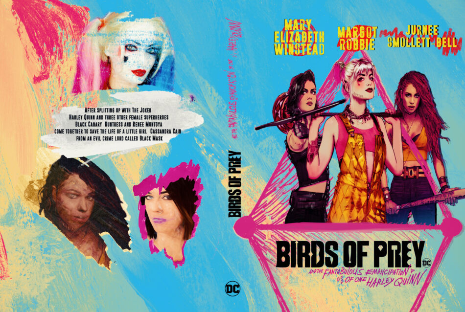 Birds Of Prey And The Fantabulous Emancipation Of One Harley Quinn 2020 Custom Dvd Cover Dvdcover Com