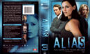 ALIAS COMPLETE SEASON THREE (2004) R1 DVD Cover & Labels