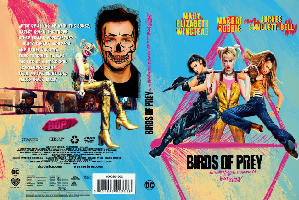 Birds Of Prey And The Fantabulous Emancipation Of One Harley Quinn Custom Dvd Cover V2 Dvdcover Com