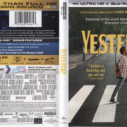 Yesterday (2019) R1 4K UHD Cover & Labels