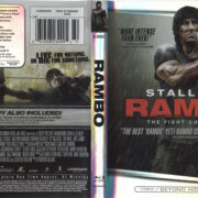 Rambo: The Fight Continues (2008) R1 Blu-Ray Cover & Labels