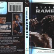 Rambo III (1988) R1 Blu-Ray Cover & Label