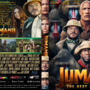 Jumanji: The Next Level (2019) R1 Custom Blu-ray Cover & Label