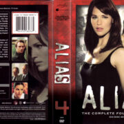 ALIAS COMPLETE SEASON FOUR (2005) R1 DVD COVER & LABELS