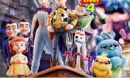 Toy Story 4 (2019) R1 Custom DVD label V2