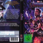 Avengers - Endgame (2019) R2 German DVD Cover