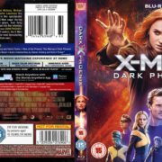 X-MEN DARK PHOENIX (2019) R2 CUSTOM Blu-Ray Cover
