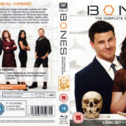 BONES SEASON SEVEN (2012) R2 BLU-RAY Cover & Labels