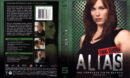 ALIAS FIFTH AND FINAL SEASON (2006) R1 DVD COVER & LABELS