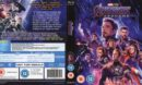 AVENGERS: ENDGAME (2019) R2 Blu-Ray Cover & Labels