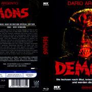 Dämonen 2 (1985) R2 German Blu-Ray Cover
